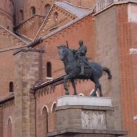 "Donatello en Padova: ""El Gattamelata"", la primera estatua ecuestre del Renacimiento."