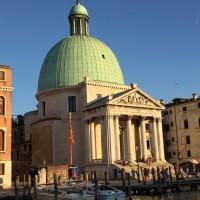 Amor a primera vista, la iglesia de San Simeon Piccolo en Venezia
