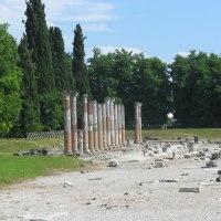 Aquilea (Italy). La Basílica, sus mosaicos Paleocristianos y la mítica fundación de Venezia.