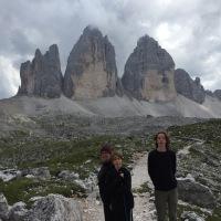 "Le Tre Cime di Lavaredo (Montañas Dolomitas, Italy). ""Las torres del Paine Italianas""."