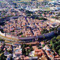 Caminando por las murallas medievales de Citadella (Padova, Italia)
