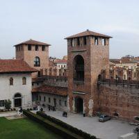 Castel Vecchio, Verona, Italia.