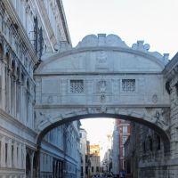 El puente de los suspiros. Venezia, Italia.