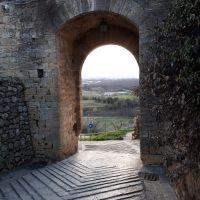Historia de una Puesta de Sol en Toscana (Italia).