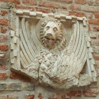 El león alado de Venezia