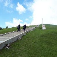 Visitando el Monte Grappa, recuerdos de la primera Guerra mundial.