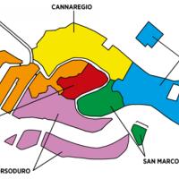 Que son los Sestieres en Venecia