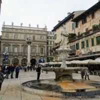 La Piazza delle Erbe de Verona. Lo que no supe  cuándo estuve ahi!!!