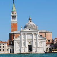 Venezia: La Basílica de San Giorgio Maggiore.