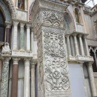 Las columnas de Acre. Piazza San Marco, Venezia.