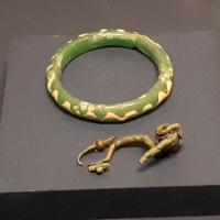 Antiguas joyas en el Museo Nacional Arqueologico de Adria