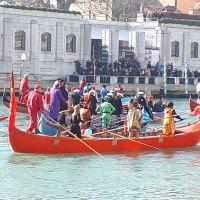 La Festa Veneziana sull'acqua. El inicio del Carnaval.