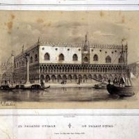 Las ventanas del Palazzo Ducale. Venezia