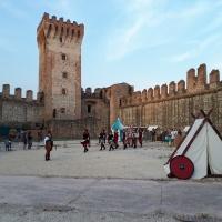 El castello Carrarese de Este. Padova, Italia.