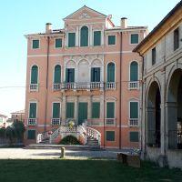 Villa Contarini Giovanelli Venier.Vo' Vecchio, Padova, Italia.