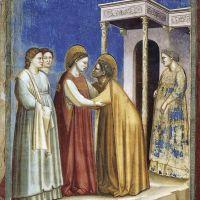 La vida de Jesús. Los afrescos de Giotto en la Capella degli Scrovegni. Padova. Italia.