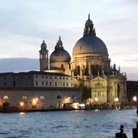 Atardecer en Venezia, La Basilica della Salute.
