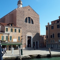 El cuadro más grande del mundo está en Venezia. Chiesa di San Pantalon.