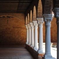 El claustro de Chiesa di San Francesco della Vigna. Venecia.
