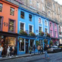 Victoria Street. Edimburgo, Escocia.