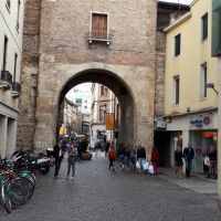 La Porta Altinate, Padova, Italia.