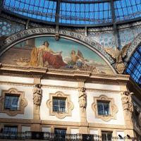 Galería Vittorio Emanuele II, Milan, Italia.