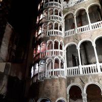 La Scalla Contarini. La escalera de caracol más bella del mundo. Venezia.