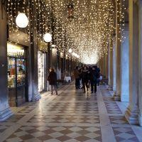 """Navidad en Venezia. """"Cuando las estrellas tocan la tierra""""."""