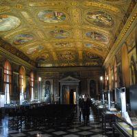 La biblioteca Marciana. Plaza de San Marco, Venezia.