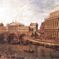 """Una Venezia que nunca existió. """"El Capriccio de Canaletto""""."""