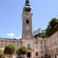 Detalles de Salzburgo, Austria.