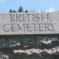 El Cementerio Británico de Granezza. Donde reposan Harold y Vera Brittain. Altopiano di Asiago, Vicenza.