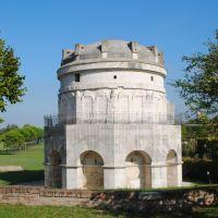 El Mausoleo de Teodorico. Ravenna, Italia.