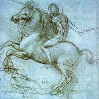 El caballo de Leonardo da Vinci.