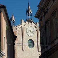 El Duomo de Montagnana. Veneto. Italia