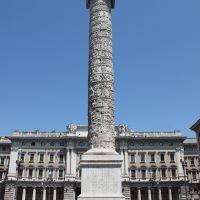 La Columna de Marco Aurelio. Roma, Italia.