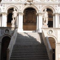 La Scala dei Giganti. Palazzo Ducale, Venezia.