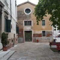 The Oratory of the Crociferi. Venice, Italy.