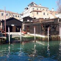 El Squero más antiguo de Venezia. Lo Squero Vecio.