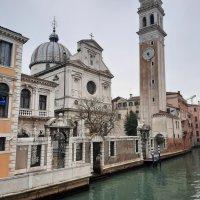 La Iglesia de San Giorgio dei Greci. Venecia.
