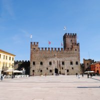 """Marostica """"no solo ajedrez"""". Vicenza, Veneto."""
