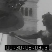 """Antiguo video del """"orologio dei mori"""". Plaza San Marco, Venezia."""