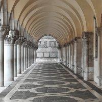 Los Portales del Palacio Ducale de Venezia.