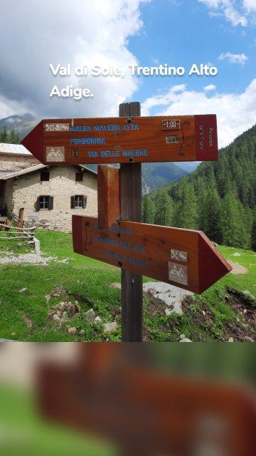 Val di Sole, Trentino Alto Adige.